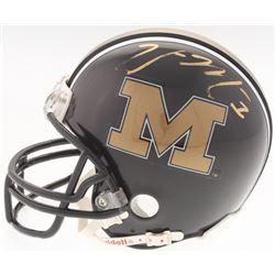 William Moore Signed Missouri Tigers Mini-Helmet (Radtke COA)