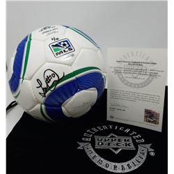 Landon Donovan Signed Adidas MLS Match Soccer Ball (UDA COA)