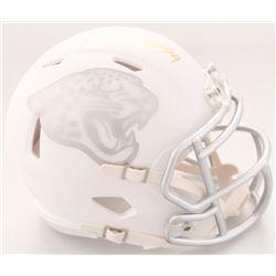 Myles Jack Signed Jaguars White ICE Speed Mini-Helmet (Radtke COA)