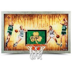 "Larry Bird Signed LE Celtics ""Larry Legend"" 18.5x30.5 Custom Framed Backboard Display (UDA COA)"