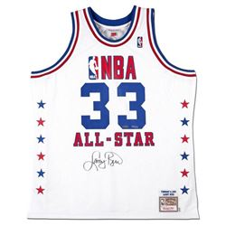 Larry Bird Signed LE 1990 NBA All-Star Jersey (UDA COA)