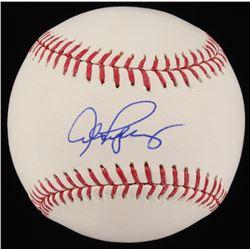 Alex Rodriguez Signed OML Baseball (Beckett COA)