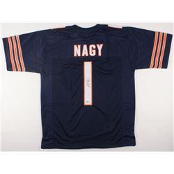 Matt Nagy Signed Bears Jersey (Beckett COA)