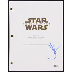 """J.J. Abrams Signed """"Star Wars: The Force Awakens"""" Full Movie Script (Beckett COA)"""