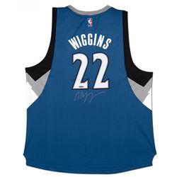 Andrew Wiggins Signed Timberwolves Jersey (UDA COA)