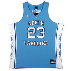 Michael Jordan Signed North Carolina Tar Heels Jersey (UDA COA)