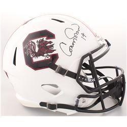 Connor Shaw Signed South Carolina Gamecocks Full-Size Speed Helmet (Radtke COA)