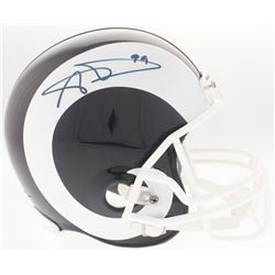 Aaron Donald Signed Rams Full-Size Helmet (JSA COA)
