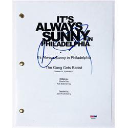 """Charlie Day Signed """"It's Always Sunny in Philadelphia"""" Full Pilot Episode Script (PSA COA)"""
