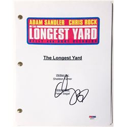 "Adam Sandler Signed ""The Longest Yard"" Full Movie Script (PSA COA)"