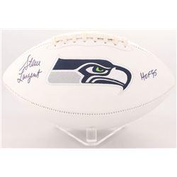 "Steve Largent Signed Seahawks Logo Football Inscribed ""HOF 95"" (JSA COA)"