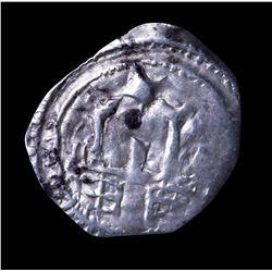 12-13th Century Austria, Duchy of Carinthia Archbishopric Salzburg. Friesacher Pfennig Medieval Silv