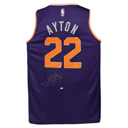 Deandre Ayton Signed Suns Fanatics Jersey (Game Day Legends COA  Steiner COA)