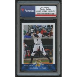 Aaron Judge Signed 2014 Charleston RiverDogs Grandstand #15 (Fanatics Encapsulated)