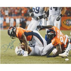 DeMarcus Ware Signed Broncos 16x20 Photo (JSA COA)