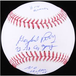 Gaylord Perry Signed OML Baseball with (4) Inscriptions (SGC COA)
