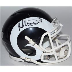 Todd Gurley Signed Rams Speed Mini-Helmet (Radtke COA)
