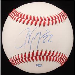 Jason Kipnis Signed OL Baseball (JSA COA)
