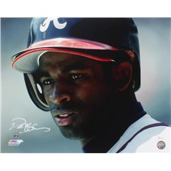 Deion Sanders Signed Braves 16x20 Photo (JSA Hologram)