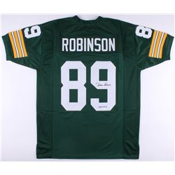 """Dave Robinson Signed Packers Jersey Inscribed """"HOF 2013"""" (JSA COA)"""