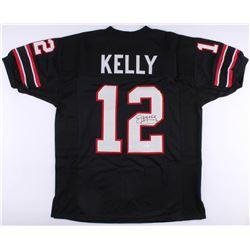 Jim Kelly Signed Houston Gamblers Jersey (JSA COA)