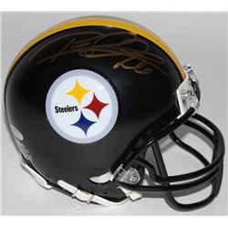 Rod Woodson Signed Steelers Mini Helmet (Schwartz COA)