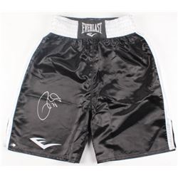 Roy Jones Jr. Signed Boxing Trunks (Schwartz COA)