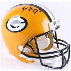 Brett Favre Signed Packers Full-Size Helmet (Schwartz COA  Radtke Hologram)