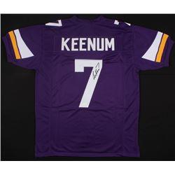 Case Keenum Signed Ravens Jersey (JSA COA)