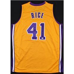 "Glen Rice Signed Lakers ""G Money"" Jersey (JSA COA)"