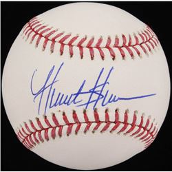 Hunter Greene Signed OML Baseball (Schwartz COA)