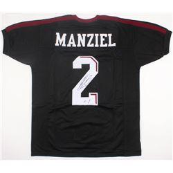 "Johnny Manziel Signed Texas AM Aggies Jersey Inscribed ""'12 HT"" (JSA COA)"