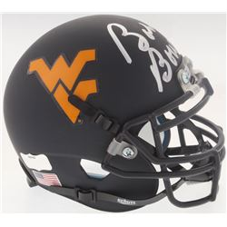 Bobby Bowden Signed West Virginia Mountaineers Matte Black Mini-Helmet (Radtke COA)