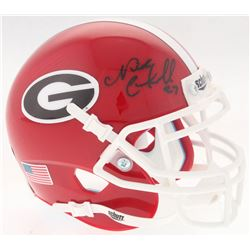 Nick Chubb Signed Georgia Bulldogs Mini-Helmet (Radtke COA)