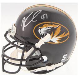 Kony Ealy Signed Missouri Tigers Mini Helmet (Radtke COA)