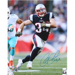 Rex Burkhead Signed Patriots 16x20 Photo (JSA COA)