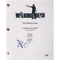 """Andrew Lincoln Signed """"The Walking Dead"""" Full Episode Script (PSA COA)"""