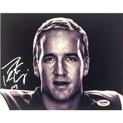 Peyton Manning Signed Colts 8x10 Photo (PSA COA)