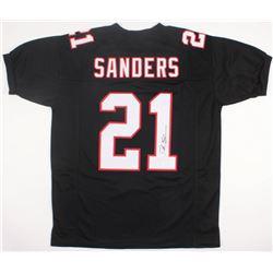 Deion Sanders Signed Falcons Jersey (JSA COA)