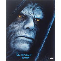 Ian McDiarmid Signed  Star Wars  16x20 Photo Inscribed  Emperor  (JSA COA)