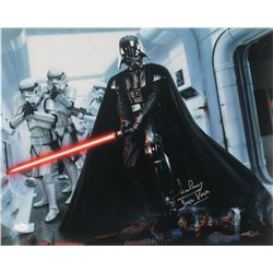 David Prowse Signed  Star Wars  16x20 Photo Inscribed  Darth Vader  (JSA COA)