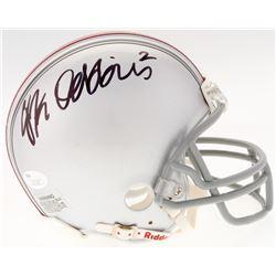 J.K. Dobbins Signed Ohio State Buckeyes Mini-Helmet (JSA COA)