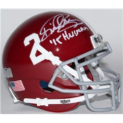 "Derrick Henry Signed Alabama Crimson Tide Mini Helmet Inscribed ""'15 Heisman"" (Radtke COA  Henry Hol"