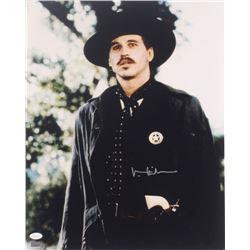 """Val Kilmer Signed """"Tombstone"""" 16x20 Photo (JSA COA)"""