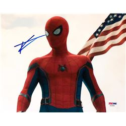 "Tom Holland Signed ""Spider-Man: Homecoming"" 8x10 Photo (PSA COA)"