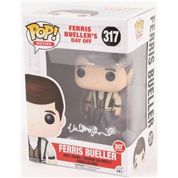 """Lot of (2) """"Ferris Bueller's Day Off"""" Funko Pop Vinyl Figures with Alan Ruck Signed Cameron Frye #31"""