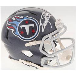Derrick Henry Signed Titans Speed Mini-Helmet (Radtke COA  Henry Hologram)