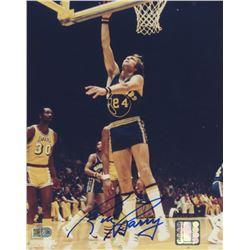 Rick Barry Signed Warriors 8x10 Photo (AI Verified COA)