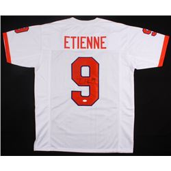 Travis Etienne Signed Clemson Tigers Jersey (JSA COA)