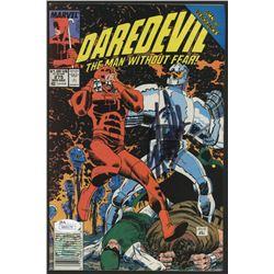 """Stan Lee Signed 1989 """"Daredevil"""" Issue #275 Marvel Comic Book (JSA COA  Lee Hologram)"""